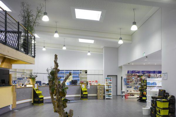 ICS, Interieur, Ottersweier, Kühldecke, Climadecke